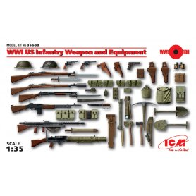 Icm 35688 US Infantry Weapon & Equipment
