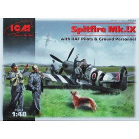 ICM 48801 SPITFIRE AND PILOTS
