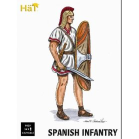 Hat 9019 1/32 Spanish Warrior