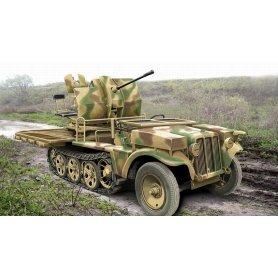 ACE 1:72 20mm Flak 38 Sfl.Sd.Kfz.10/4