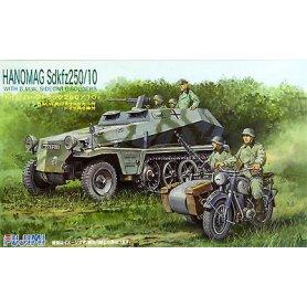 Fujimi 762173 1/76 Hanomag Sdkfz250/10