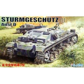 """Fujimi 762104 1/76 German """"StuG. III Ausf D"""""""