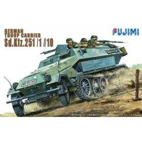 "Fujimi 761022 1/76 German hanomag ""Sd.kfz. 251/1"""