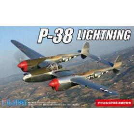 Fujimi 144269 1/144 1/144 P38 Lightning (2 in 1) w