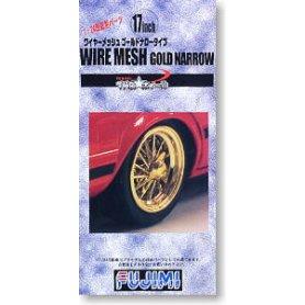 Fujimi 192895 1/24 TW-20 17inch Wire Mesh Gold