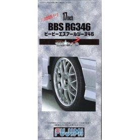 Fujimi 193045 1/24 TW-35 17inch BBS RG346 Wheel