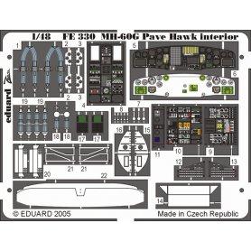 Eduard Fe330 Mh-60G Interior Italeri