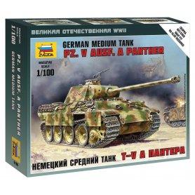 Zvezda 6196 Pz.Kpfw V Panther Aust. A