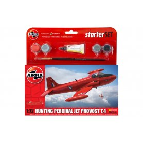 Airfix 1:72 Hunting Percival Jet Provost T.4 Starter Set