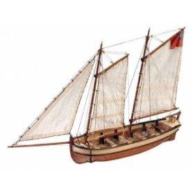 Artesania latina 1:50 WOODEN MODEL KIT Lifeboat HMS Endeavour