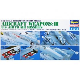 Hasegawa 1:72 US Air to Air Missiles Aircraft Weapons III
