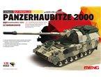 Meng 1:35 Panzerhaubitze 2000 SP z dodatkowym pancerzem