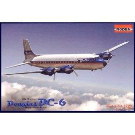 RODEN 304 DC-6 USA            1/144