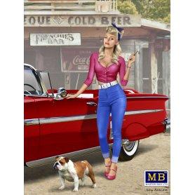 MB 1:24 A short stop Pin-up series