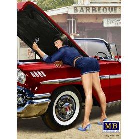 MB 1:24 A short stop. Kit No2 Pin-up series
