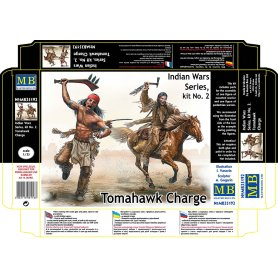 MB 35192 Indian War  Series 2. Tomahawk Charge