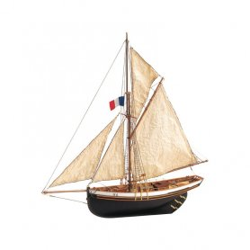Artesania latina 1:50 Jolie Brise | WOODEN MODEL KIT |