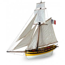 Artesania latina 1:50 Le Renard | WOODEN MODEL KIT |
