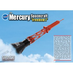 D50384 1:72 NASA MERCURY SPACECRAFT