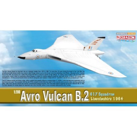 AVRO VULCAN B.2  617 SQUADRON Dragon 1:200 D52007
