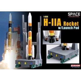 D56327 1:400 H-IIA ROCKET W/LAUCH PAD