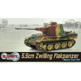 Dragon 1:72 5.5cm Zwilling Flakpanzer, Western Front 1945