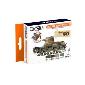 Hataka HTK-CS-11 Early WW2 Polish Army Paint set