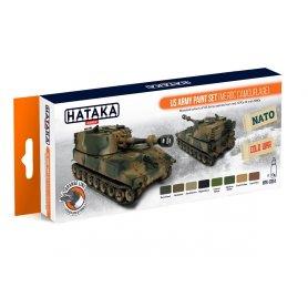 Hataka HTK-CS51 US Army paint set ( MERDC )