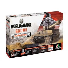I56501 1:56 WORLD OF TANKS: PZ.KPFW.VI TIGER I