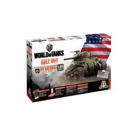 I56503 1:56 WORLD OF TANKS: M4 SHERMAN