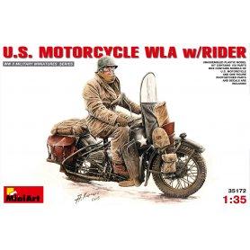 Mini Art 1:35 Motocykl US WLA z kierowcą