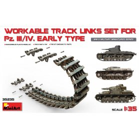 Mini Art 35235 PzKpfw III/IV Track links early