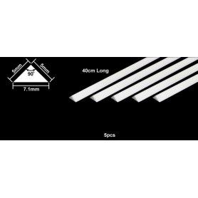 Tamiya 70118 Pręt Polistyrenowy trójkątny 5mm