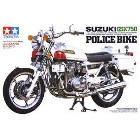 Tamiya 14020 1/12 Suzuki GSX750 Police Bike