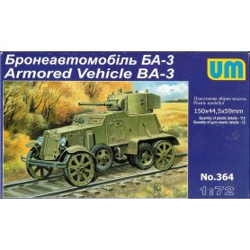 UM 364 ARMORED VEHICLE BA-3    1/72