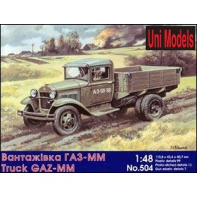 Unimodels 504 TRUCK GAZ-MM            1/48