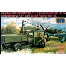 Unimodels 505 AS-1 W/SOVIT FIGHTER YAK-1B
