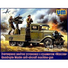 Unimodels 511 GAZ-AAA AND MACHINE GUN
