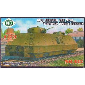 Unimodels 612 OB-3 ARMORED CAR G 1/72