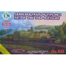 Unimodels 613 ARMOURED TRAIN