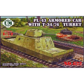 Unimodels 622 PL-43 ARMORED CAR
