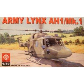 Plastyk S-020 ARMY LYNX AH1/MK.1