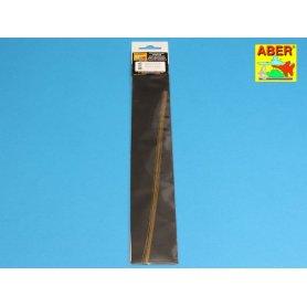 Aber BR 05 Pręty mosiężne 0,5 mm 250 mmm x 8