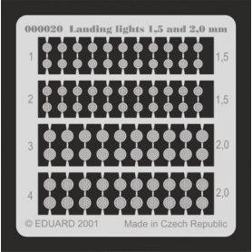 Landing lights 1,5 and 2mm