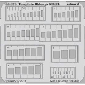 Template oblongs STEEL tool