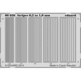 Eduard Stripes 0.2 to 1 mm