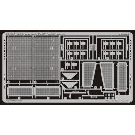 Schürzen mesh Pz.IV Ausf.J  1/48 TAMIYA