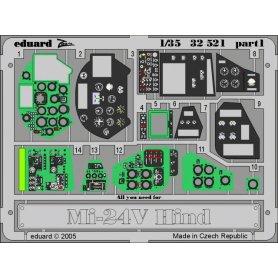 Eduard 1:32 Mi-24V Hind interior 1/35 TRUMPETER