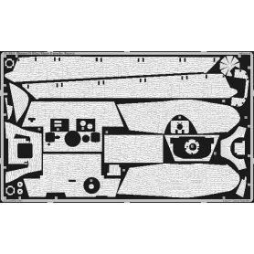 Eduard 1:35 Zimmerit do Pz.Kpfw.VI King Tiger wieża Porsche dla Tamiya
