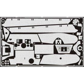 Eduard 1:35 Zimmerit do Pz.Kpfw.VI King Tiger wieża Porsche dla Dragon